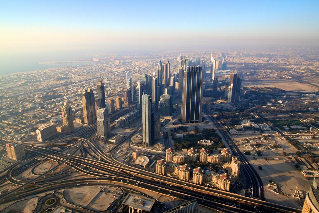 Sunset views from The Top at the Burj Khalifa | © Elisa Sophia/Flickr