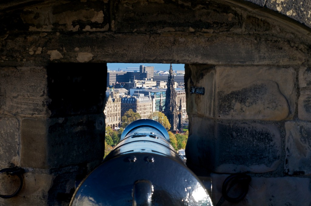 View From Edinburgh Castle | © Miguel Ángel Arroyo Ortega/Flickr