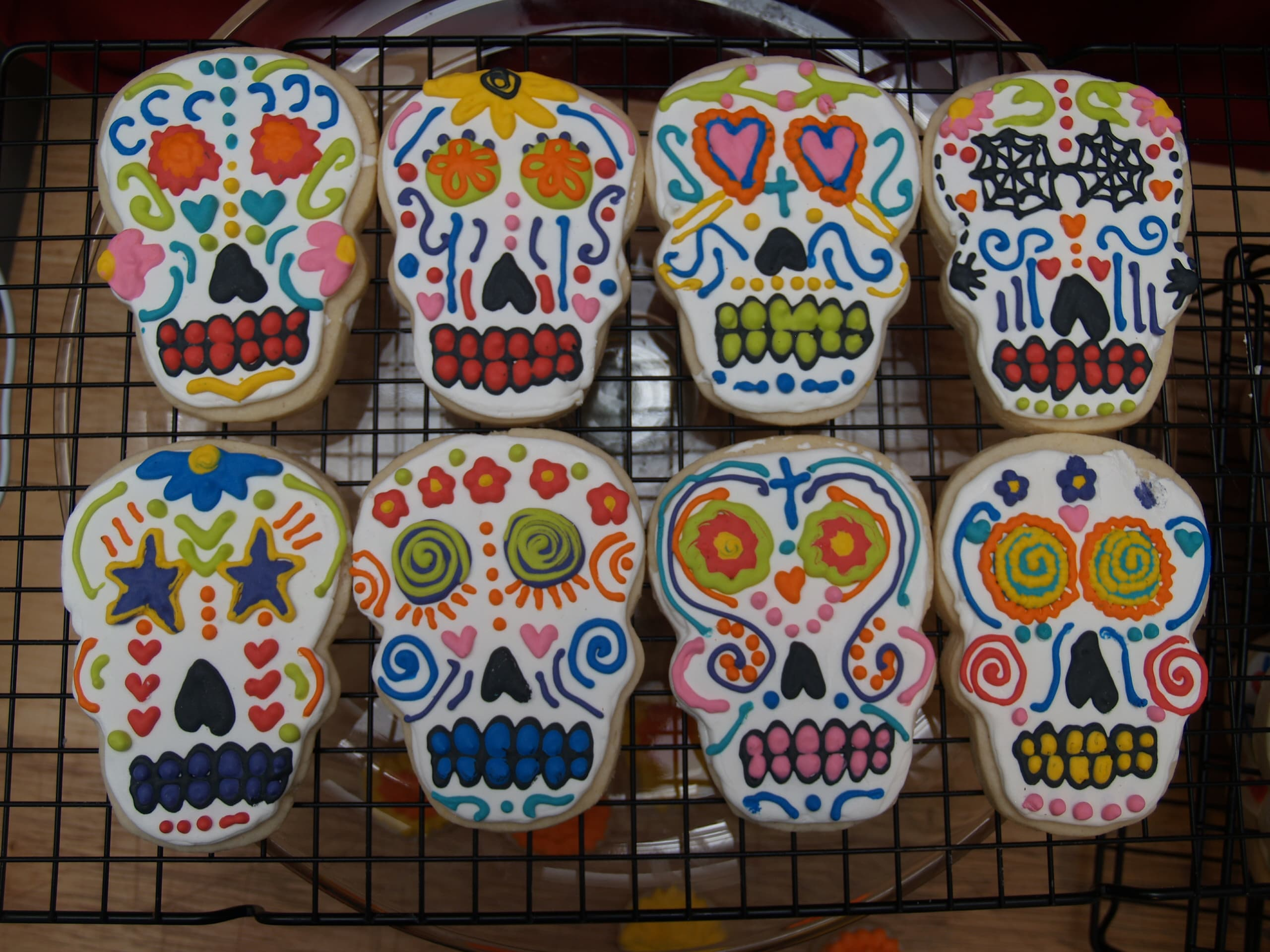 Everything you need to know about the sugar skull sugar skull cookies nicole danielsonflickr biocorpaavc Images