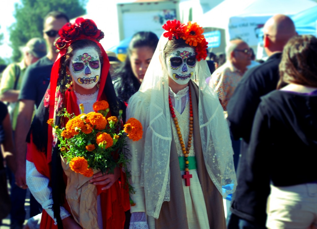 US Day of the Dead celebrations | © Jenny Huey/Flickr