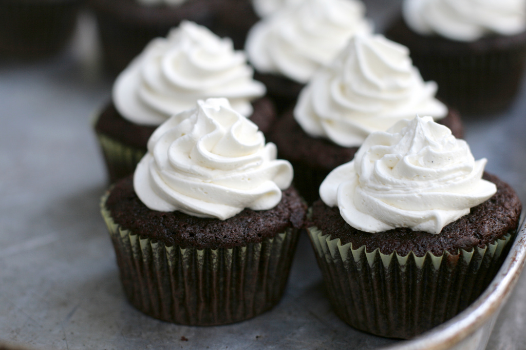 Guinness cupcakes | © Alexis Lamster/Flickr