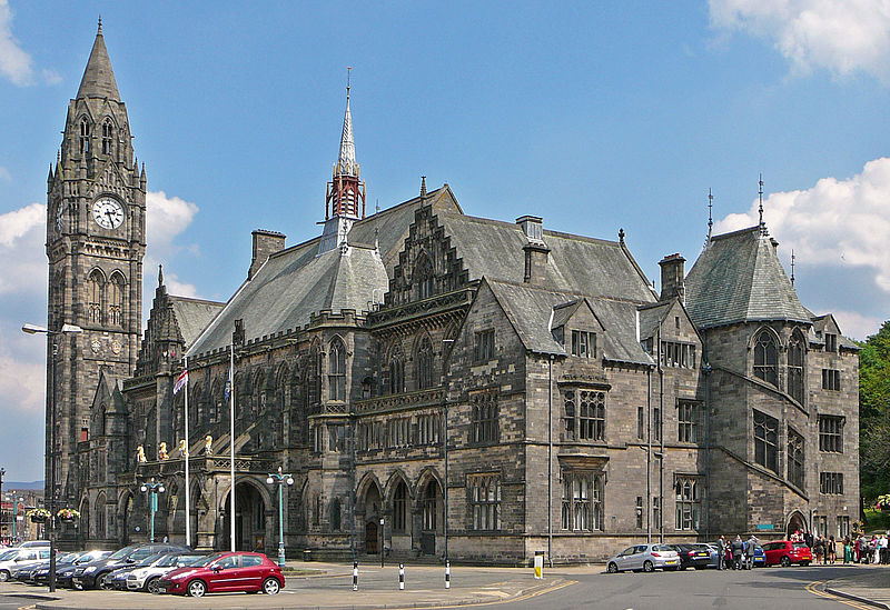 Rochdale Town Hall/Via Wikimedia
