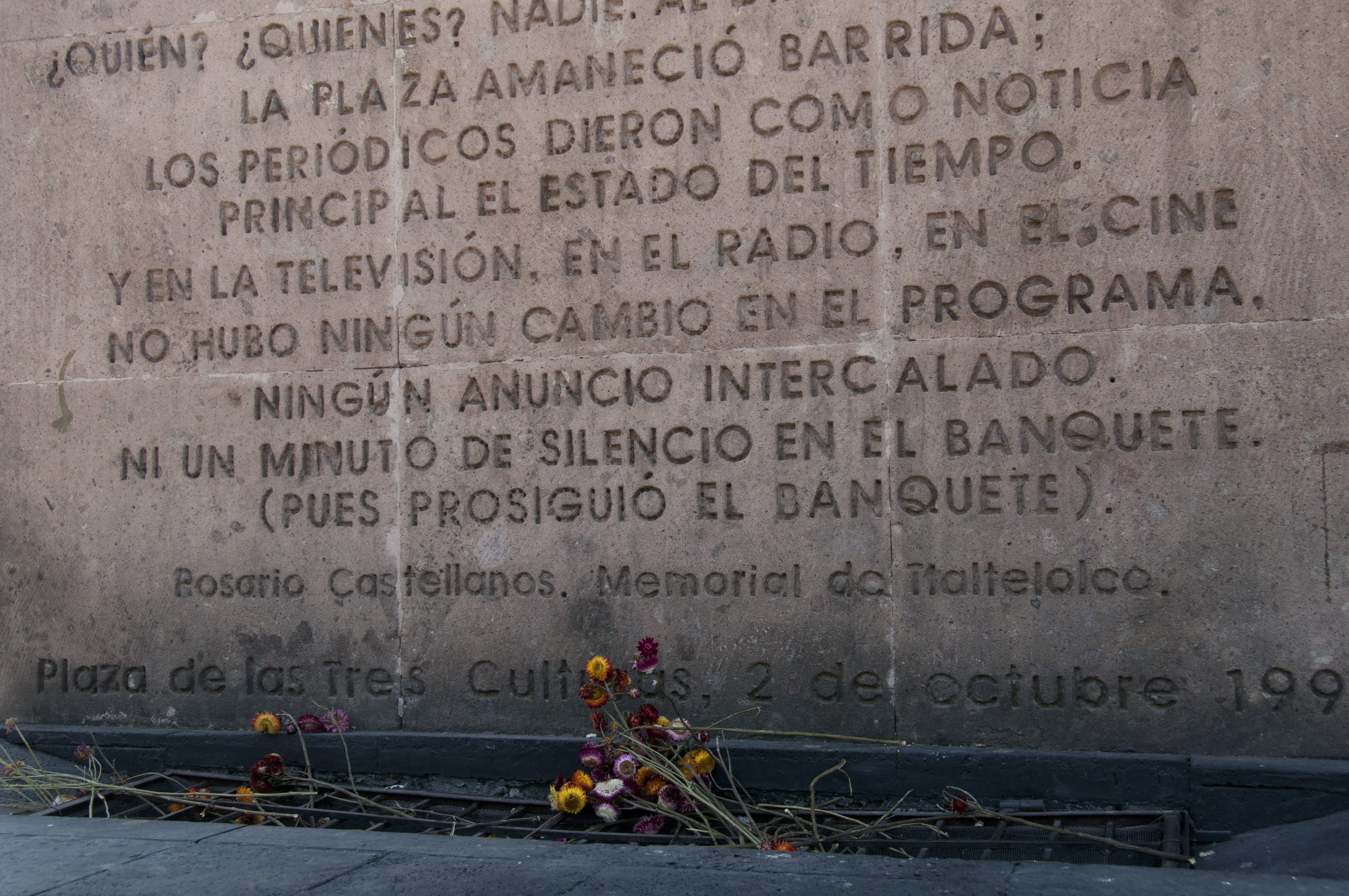 tlatelolco massacre On the night of october 2, 1968, 10 days before the olympics in mexico, mexican security forces opened fire on a student demonstration in tlatelolco plaza, killing.