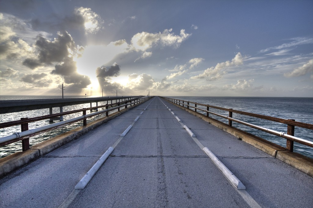 The beautiful Seven Mile Bridge, Florida Keys | Courtesy of Allen McGregor/flickr