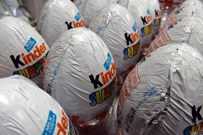Kinder Surprise, was originally banned from the US © Comrade King/Flickr