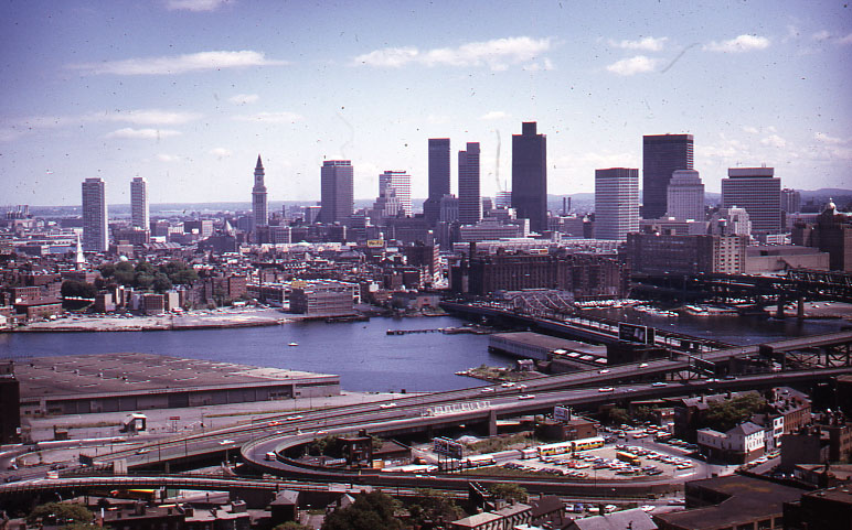 View from Bunker Hill Monument| ©City of Boston Archives/Flickr