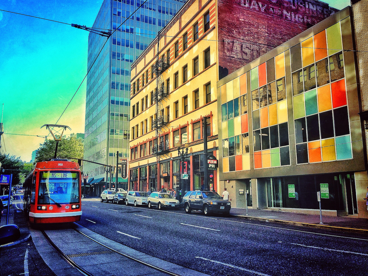 The Portland Streetcar's North/South Line | © Ian Sane/Flickr