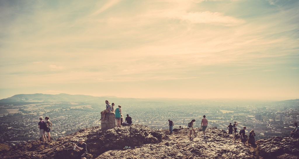 Atop Arthur's Seat   © easy-lucky-free/Flickr