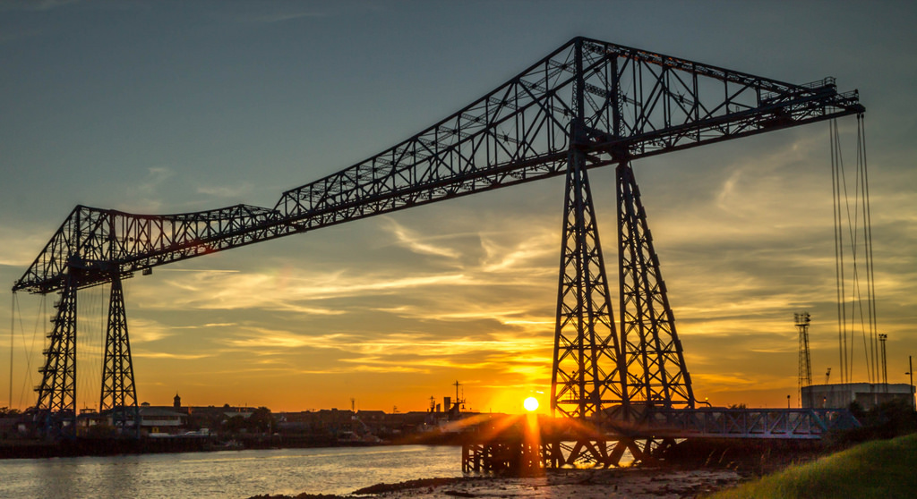 Transporter Bridge by Stephen Tierney/Via Flickr