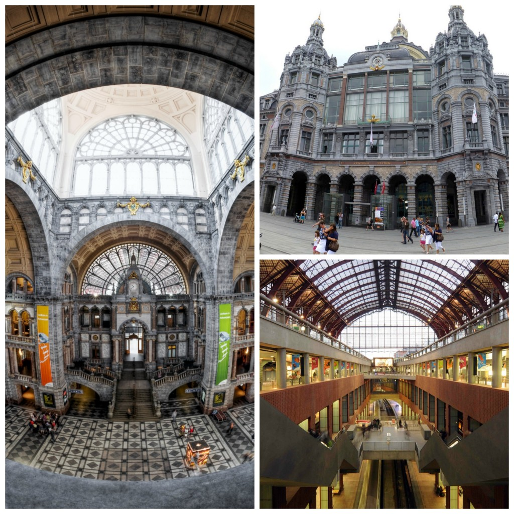 Antwerp Central Station | © Dave Van Laere/courtesy of Visit Antwerp / © Casey & Sonja/Flickr / © Jan Crab/courtesy of Visit Antwerp