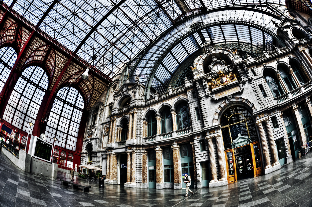 Marble In Antwerpen : A brief history of antwerp central station