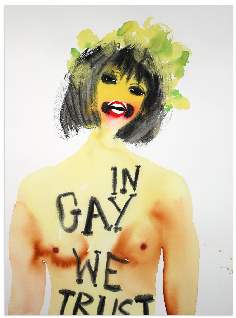 """In Gay We Trust"" by Nadine Faraj | © Nadine Faraj, courtesy of Anna Zorina Gallery, New York City"
