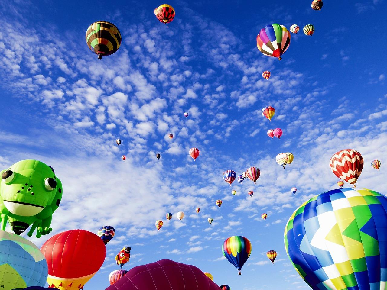 Hot Air Balloon Fest, NM | Public Domain/Pixabay