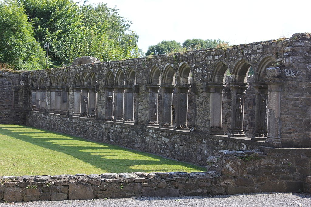 Cloister arcade , Jerpoint Abbey | © James Keppel/WikiCommons