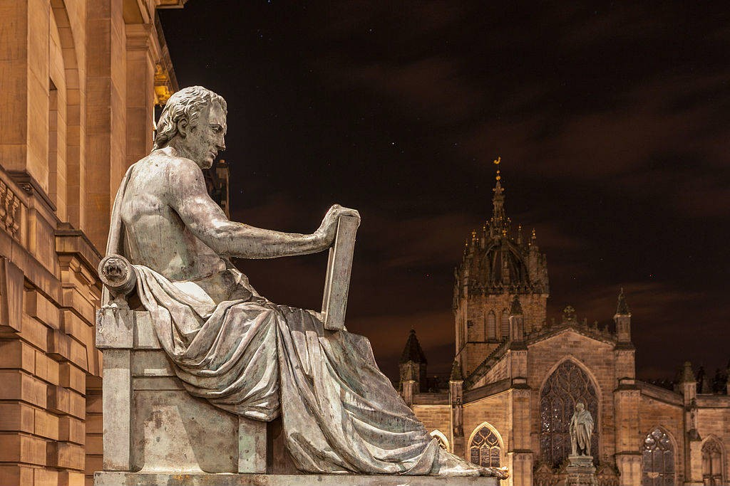 David Hume Statue