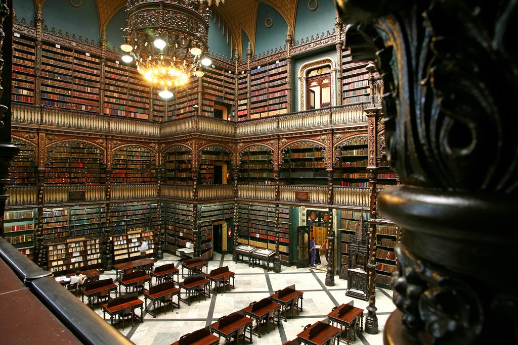 The reading room |© Real Gabinete Português de Leitura