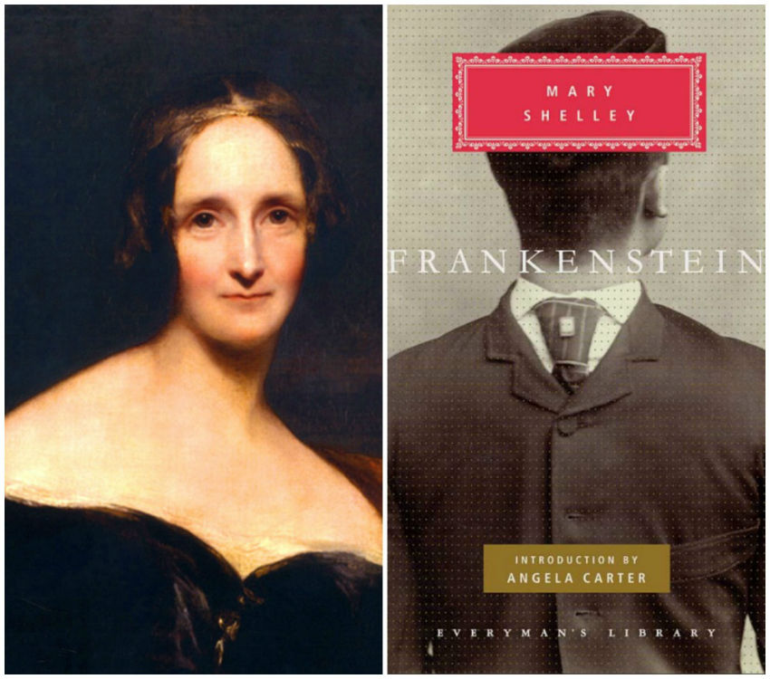 Mary Shelley | © WikiCommons // © Everyman's Library