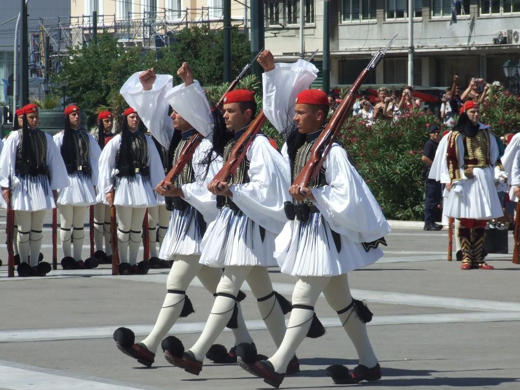 Greek Guard uniforms | WikiCommons