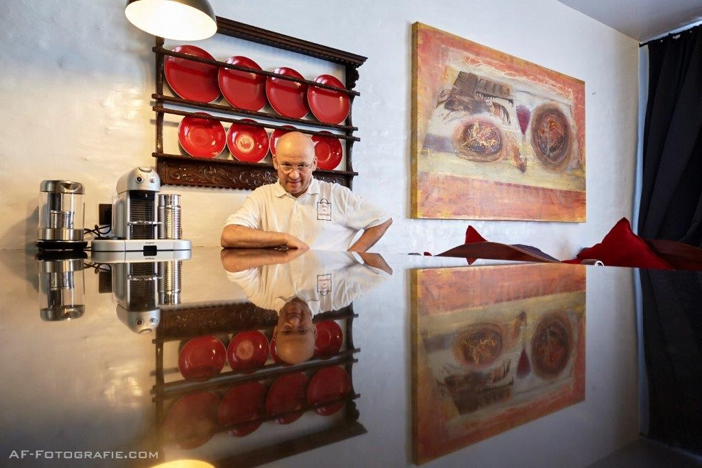 Chef Patrick Van Herck at his Huis De Colvenier | © AF-Fotografie/courtesy of Huis De Colvenier
