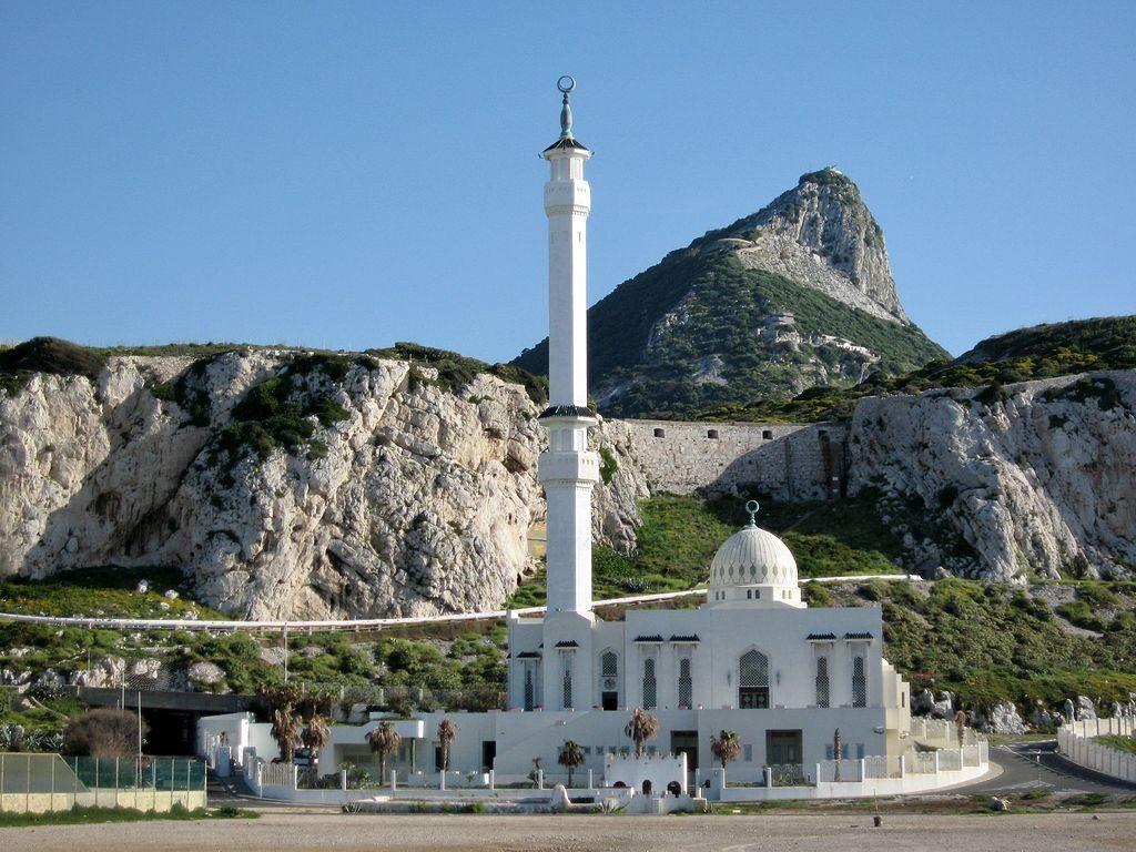 Ibrahim-Al-Ibrahim Mosque, Gibraltar | © OlafTausch