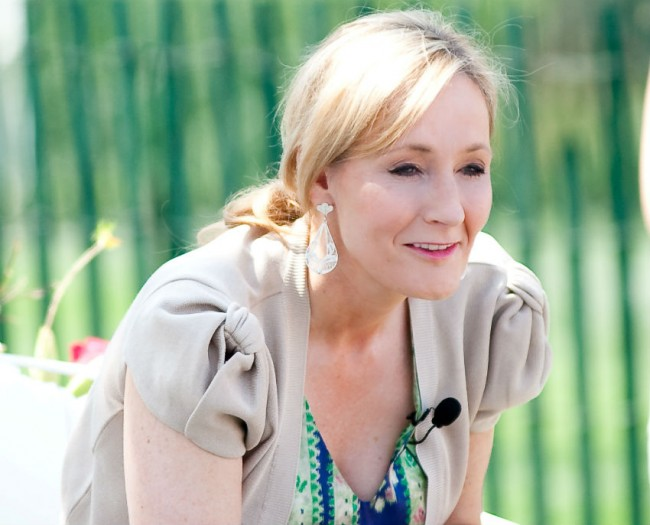 J.K. Rowling | © WikiCommons