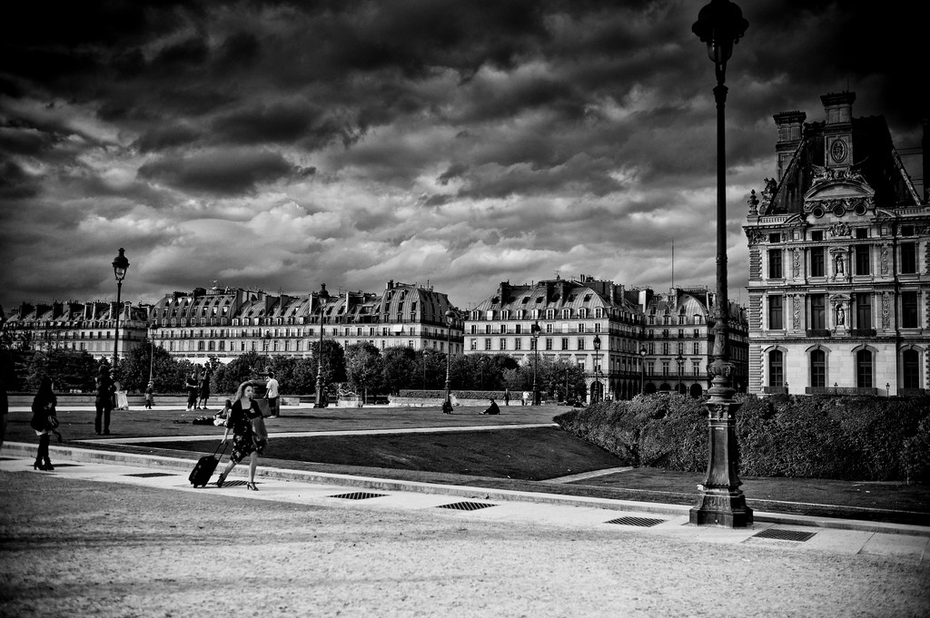 The 8 most haunted places in france for Jardin des tuileries 2016