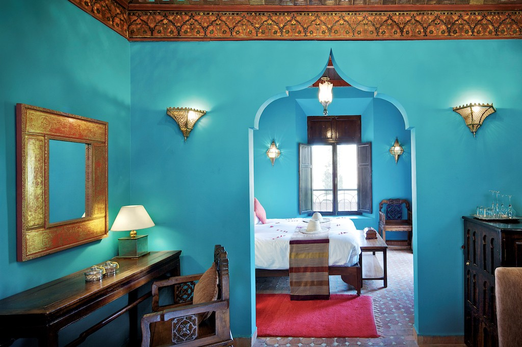 Deluxe Room at Kasbah Tamadot | © Virgin Limited Edition