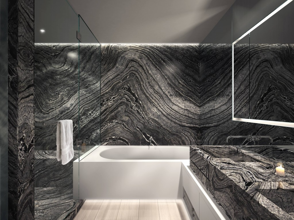 Organic Modern Bathroom