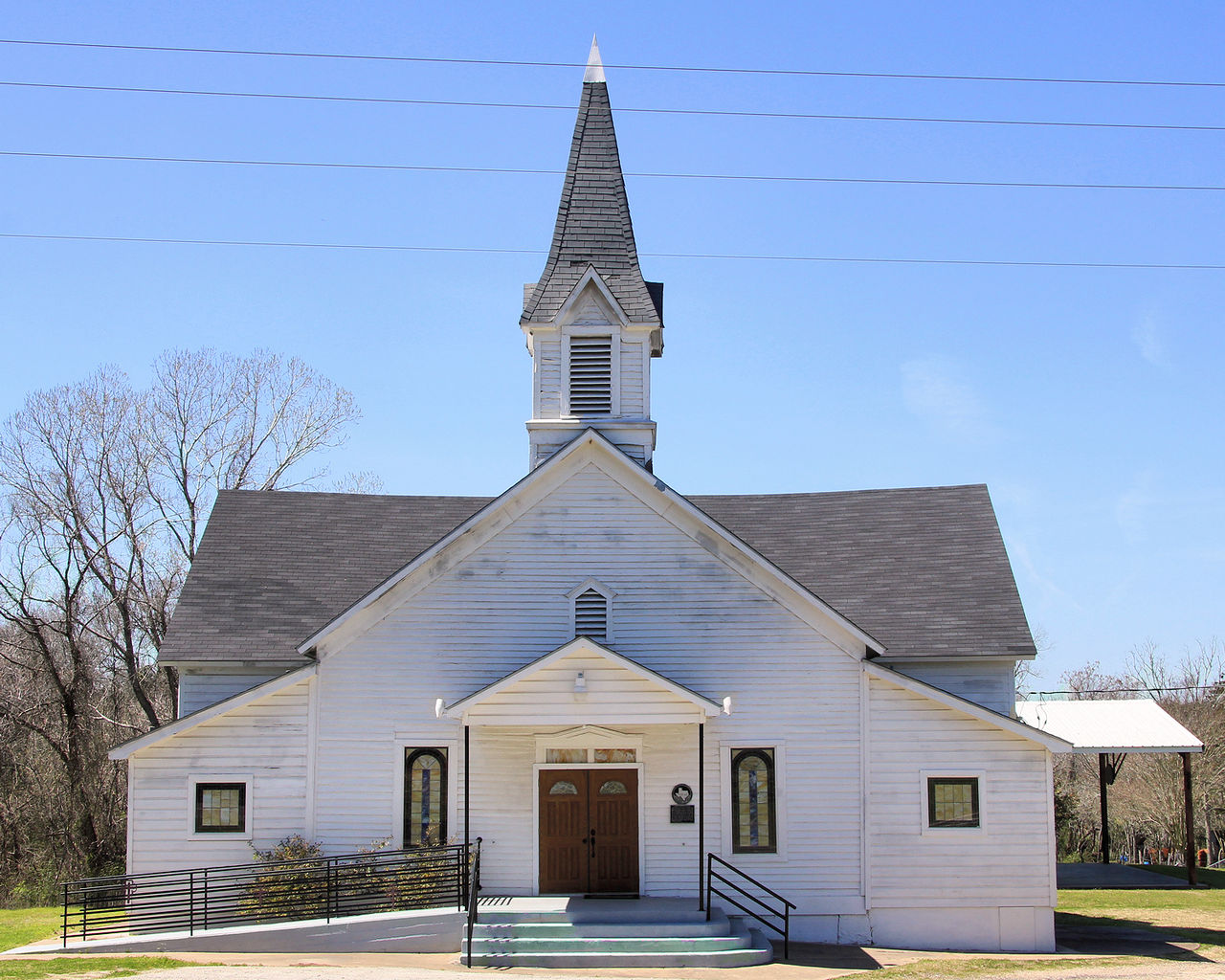 Liberty Baptist Church, Independence, Texas © Larry D. Moore/WikiCommons