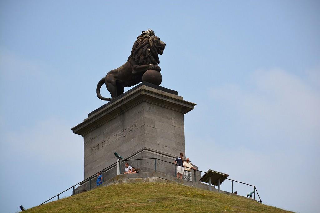 Lion's Mound   © Paul Arps-Flickr