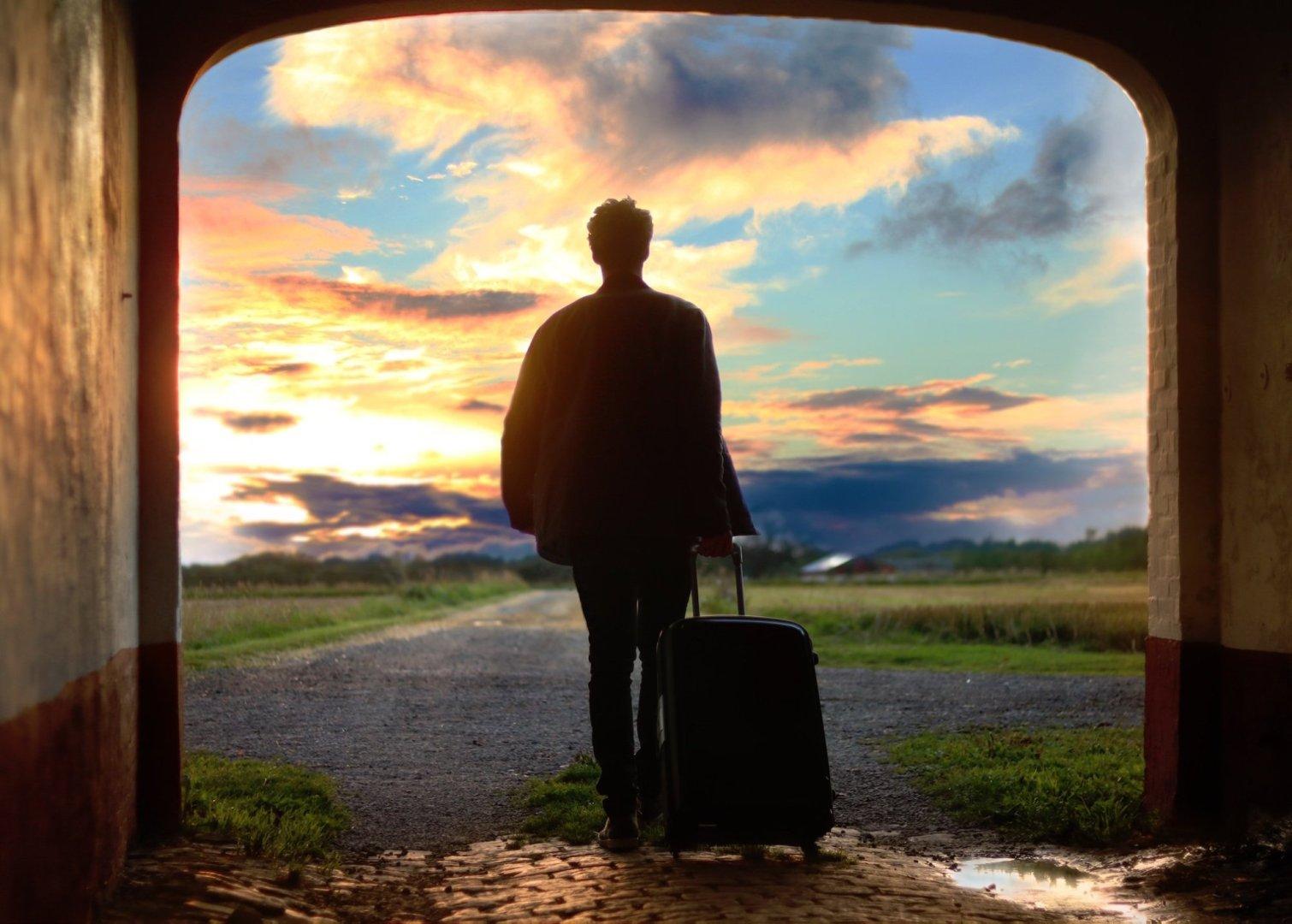 نتيجة بحث الصور عن Man + Travel