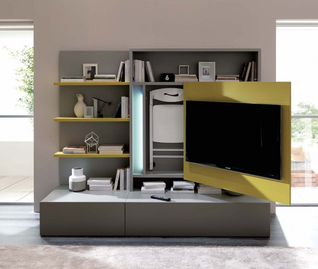15 clever design ideas for small city apartments - Smart kitchen furniture ...