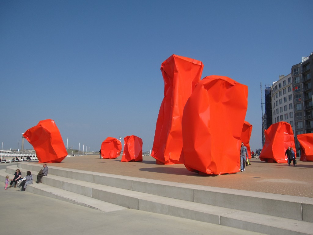 Rock Strangers by Arne Quinze in Ostend l © Bernt Rostad/Flickr