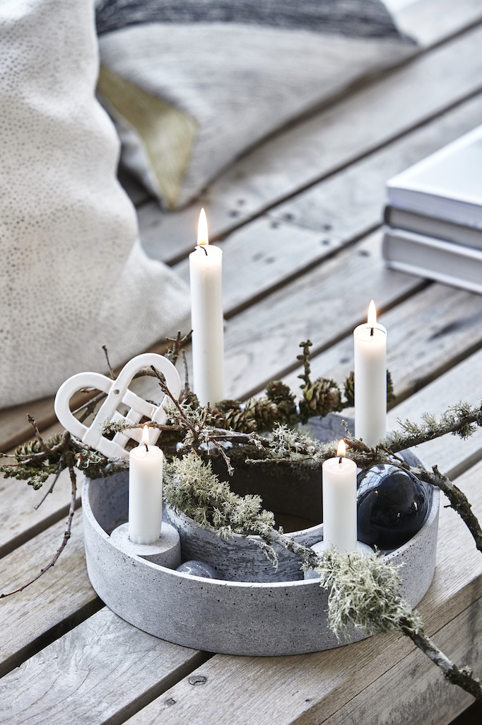 12 ways to create the danish hygge look at home - Ideen adventskranz ...
