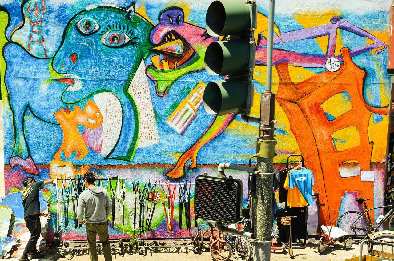 Graffiti in San Francisco | Public Domain/Pixabay
