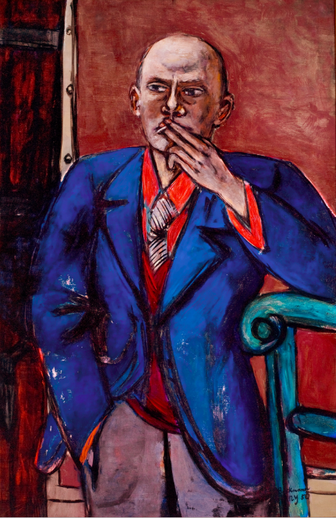 'Self-Portrait in Blue Jacket' (1950) | © 2016 Artists Rights Society (ARS), New York / VG Bild-Kunst, Bonn