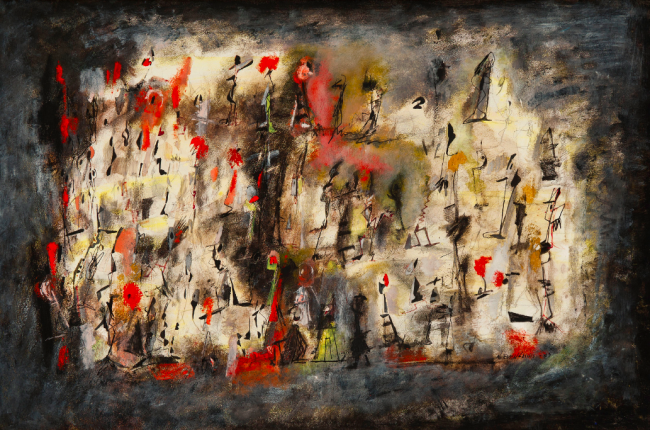 The Color Black Norman Lewis Amp Abstract Expressionism