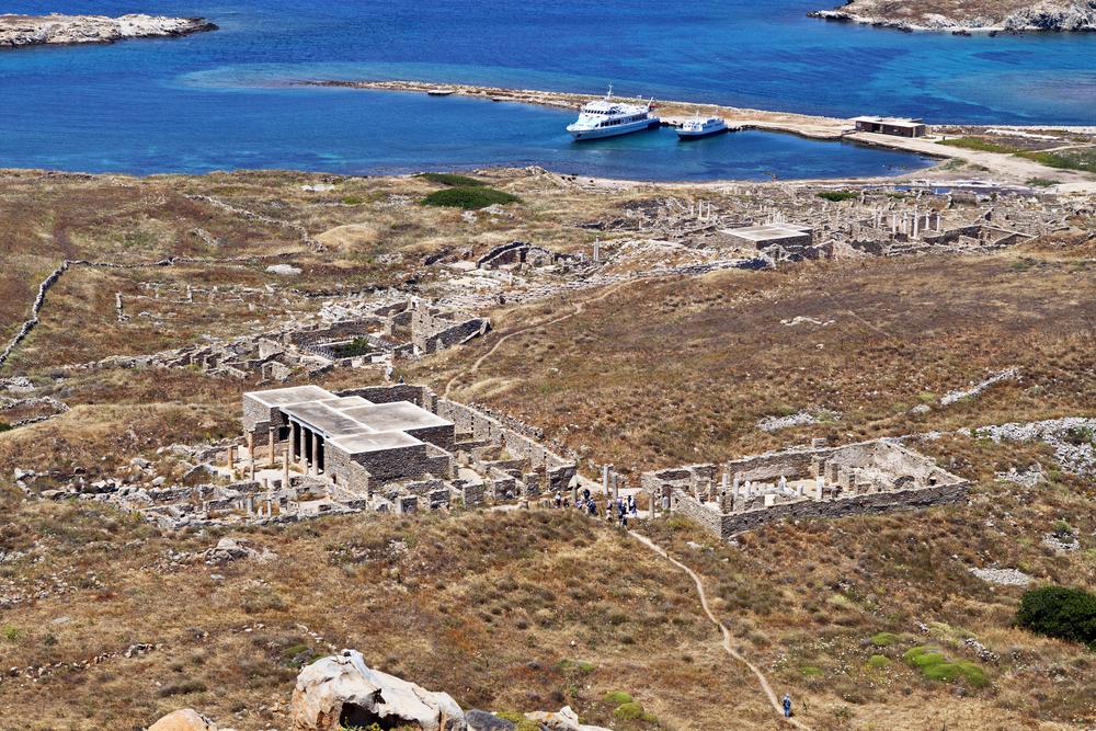 Delos island at the aegean sea in Greece ©Panos Karas / Shutterstock