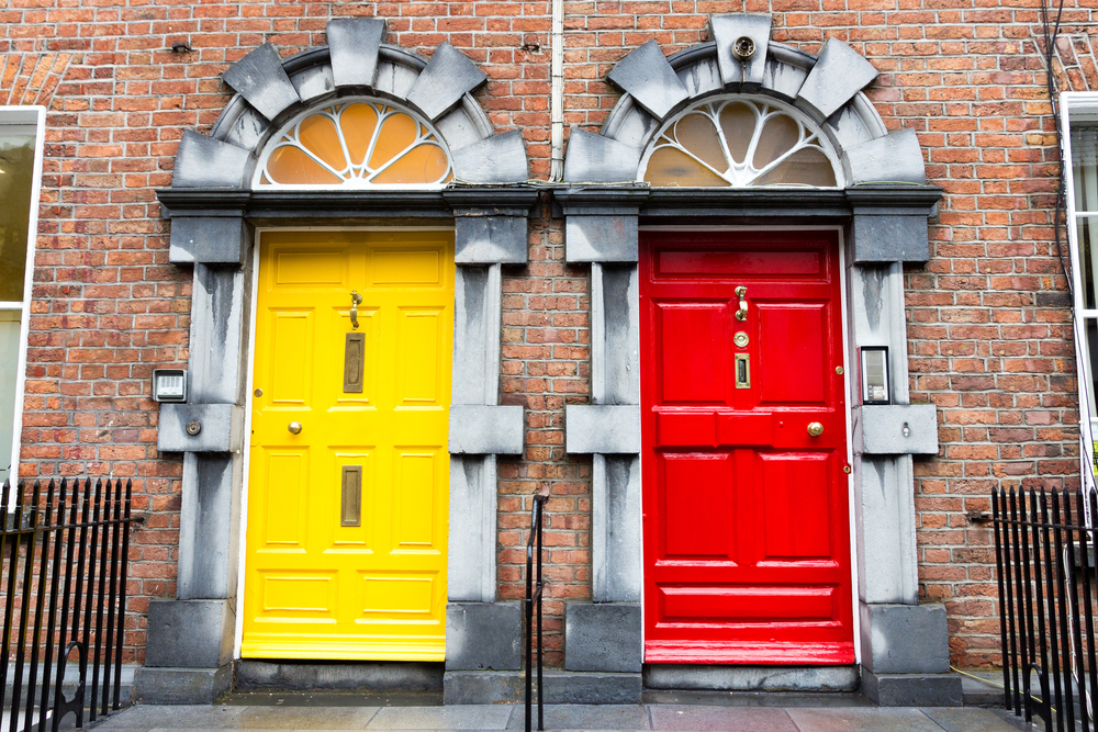 Typical Dublin Doors © VanderWolf Images / Shutterstock & Dublinu0027s Coloured Doors: From Trend To Trademark pezcame.com