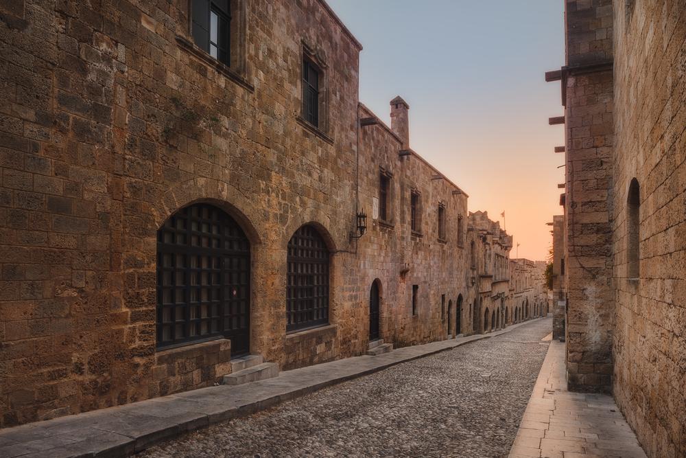 Medieval City of Rhodes ©Naumenko Aleksandr / Shutterstock