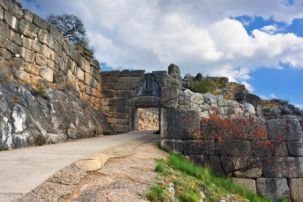 The Lion Gate. The archaeological sites of Mycenae and Tiryns ©Oleg Znamenskiy / Shutterstock