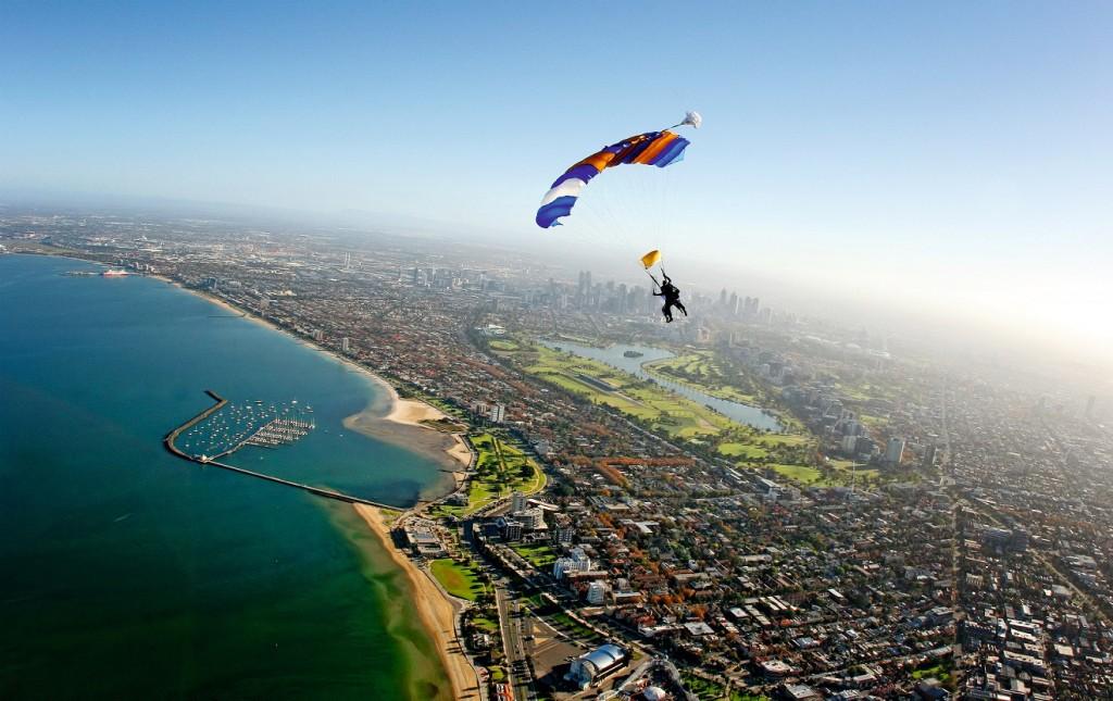 Courtesy of Skydive Melbourne