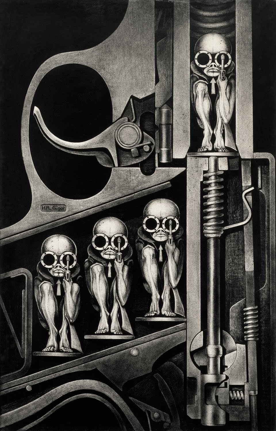 Hr Giger S Surreal Creatures Will Haunt Amp Hunt You