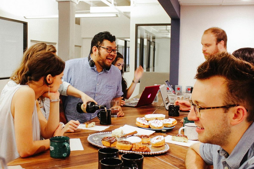 Space highlights the social aspect of coworking | Courtesy of Space