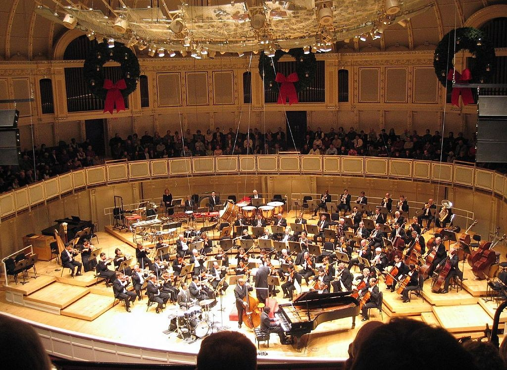 Chicago Symphony Orchestra, courtesy of Wikimedia Commons