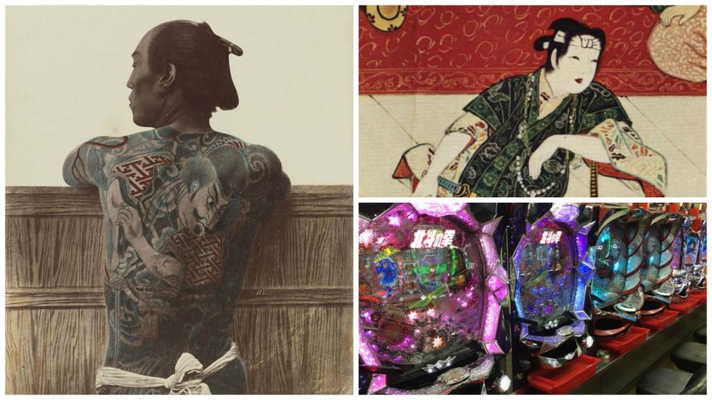 A tattooed man in 1875 | © Kusakabe Kimbei/WikiCommons / Kabukimono | © WikiCommons / Yakuza operate thousands of legitimate businesses | © Alicia Joy