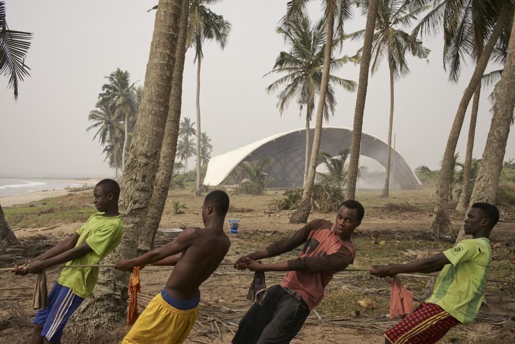 Haduwa by aFA architects in Accra, Ghana | © Julien Lanoo