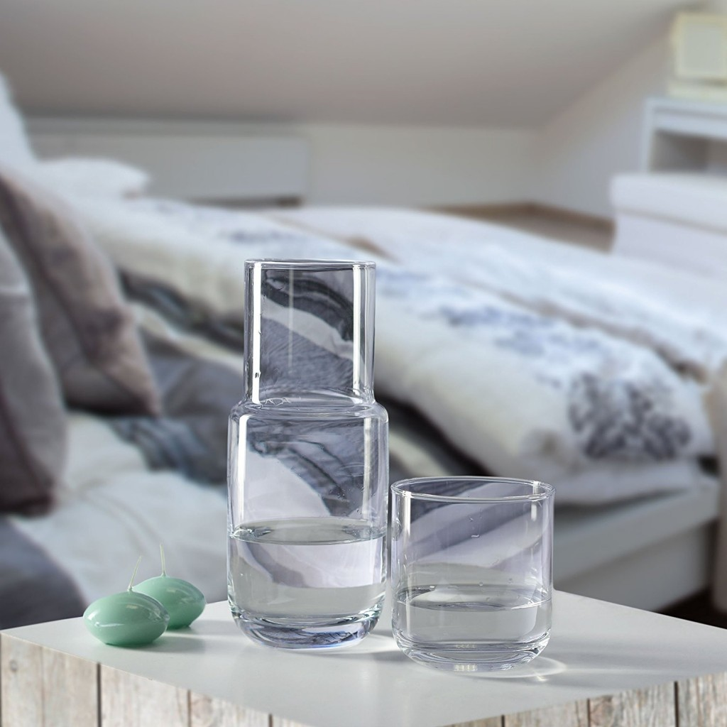Household Essentials KROSNO handmade quench bedside water carafe set, $26.01