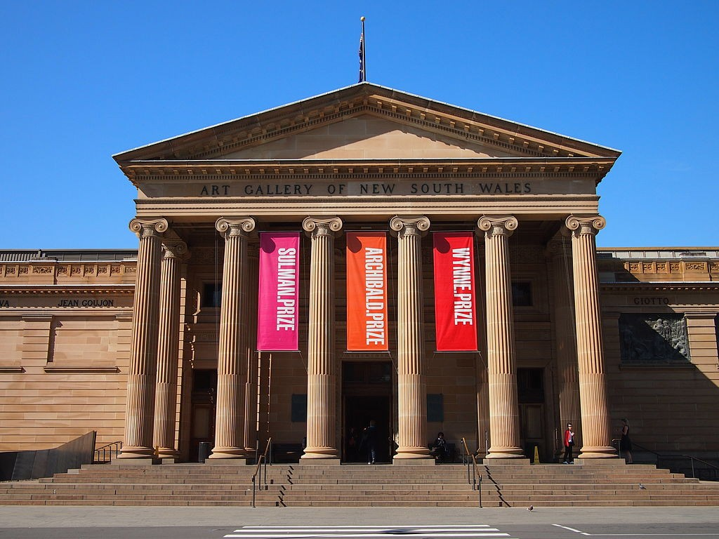 Art Gallery of NSW entrance May 2013 © Nick-D/WikimediaCommons
