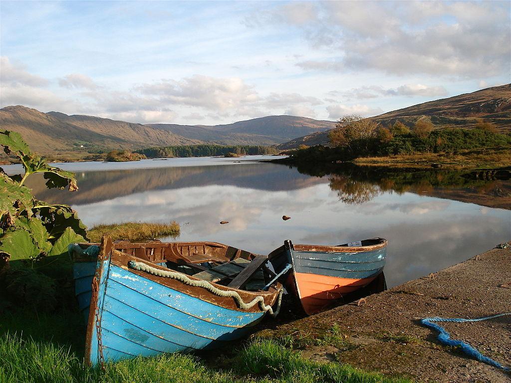 Cloonee Loughs, Beara Peninsula, County Kerry | ©Raúl Corral/WikiCommons